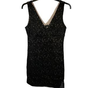 Valerie Bertinelli Lace Little Black Dress Size 12